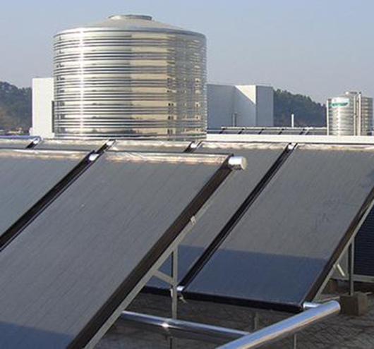 太阳能热水工程保温水箱