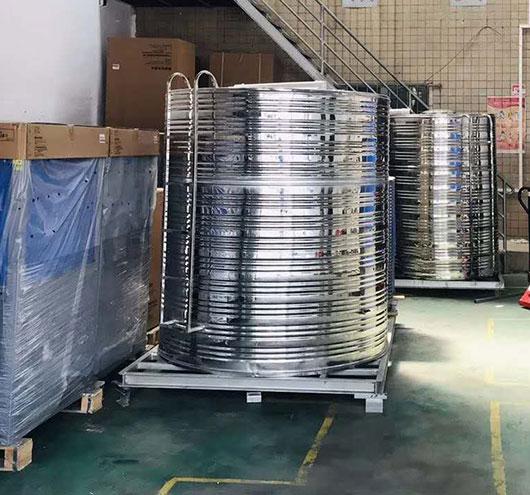 不锈钢储热水箱,不锈钢热水桶,不锈钢蓄热水箱